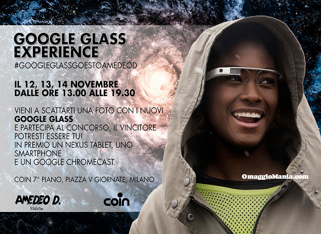 Testa i Google Glass e vinci Nexus o Google Chromecast