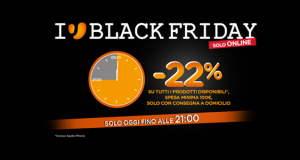 Unieuro Black Friday sconto 22%