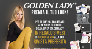 abbonamento rivista omaggio con Golden Lady