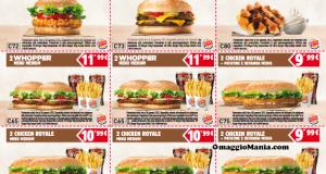 buoni sconto Burger King fino al 6 gennaio 2015