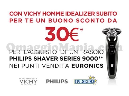 buono sconto Philips Shaver Series 9000 con Vichy