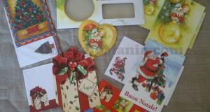 cartoline Natale omaggio da LFO Francesca