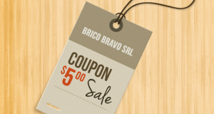 coupon Brico Bravo 5 euro