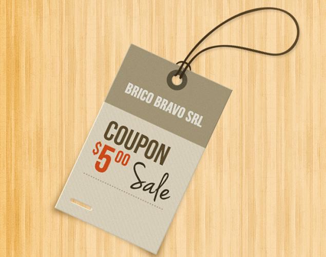 coupon Brico Bravo 5 euro