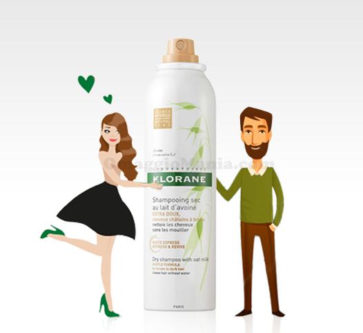 diventa tester Klorane shampoo secco