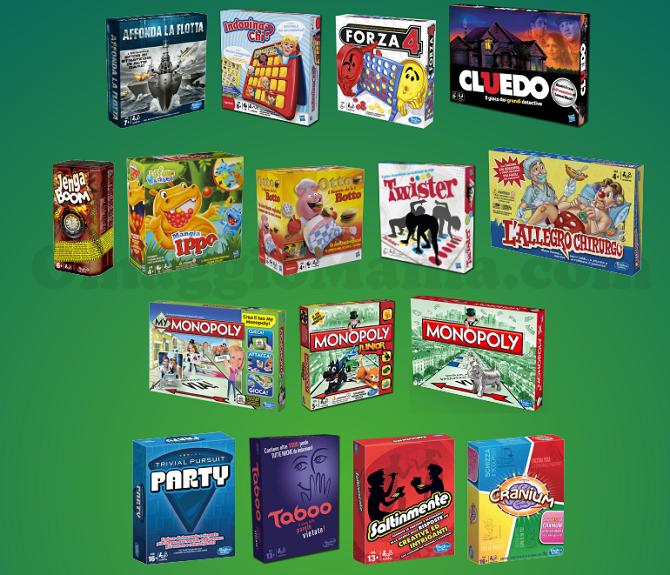 gioco in scatola Hasbro gratis