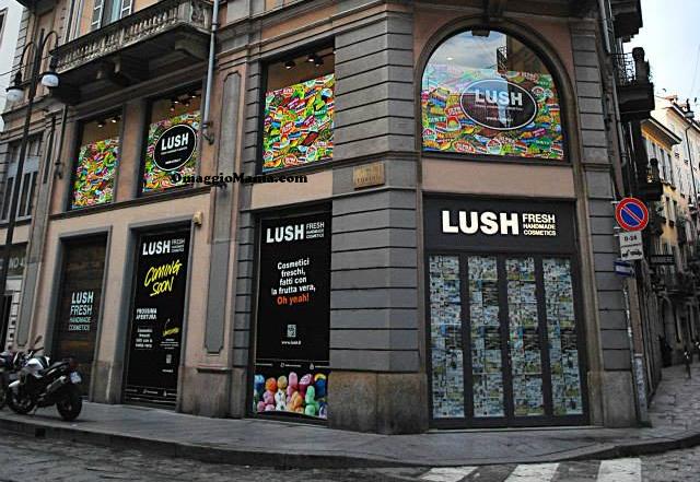 inaugurazione Lush Milano