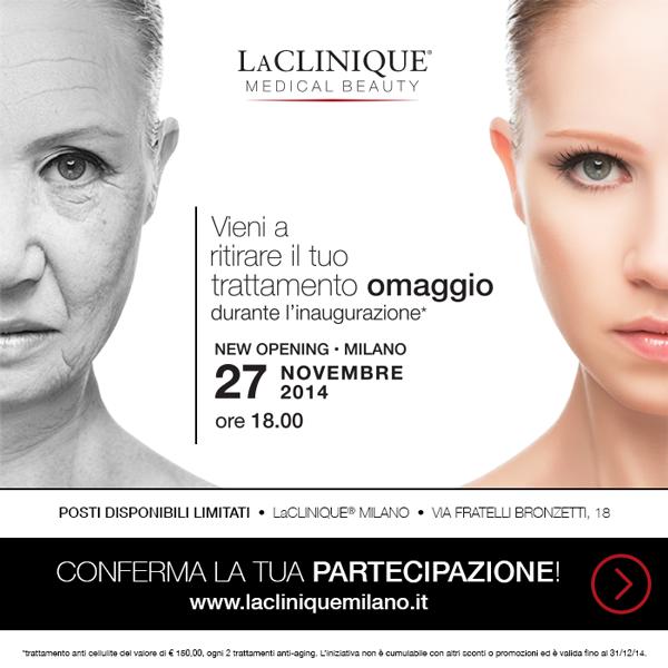 omaggio LaClinique a Milano