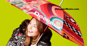 ombrello in regalo da Desigual