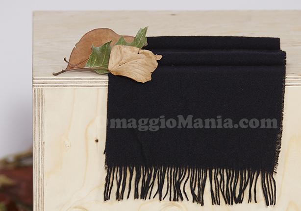 sciarpa cashmere omaggio da Falconeri