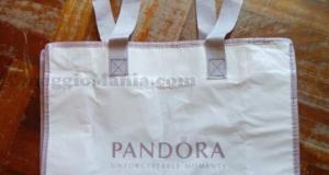 shopper omaggio Pandora Rosa