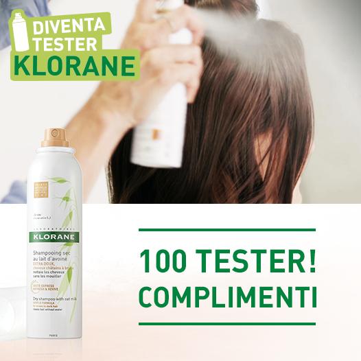 tester shampoo Klorane