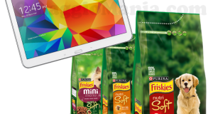 vinci Samsung Galaxy Tab 4 con Friskies
