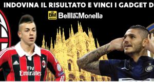 vinci gadget di Radio Bellla&Monella indovinando il risultato di Milan-Inter
