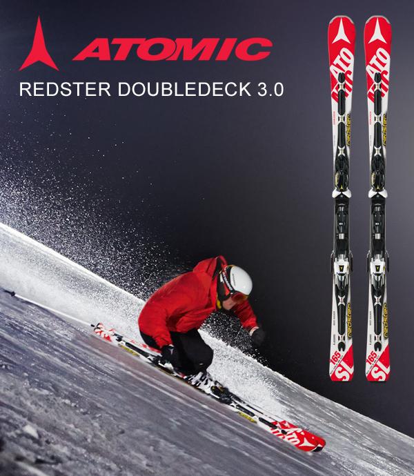 vinci gli sci Atomic Doubledeck Redster 3.0 SL con Sportler