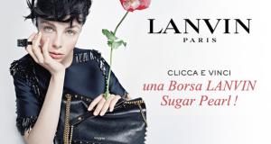 vinci una borsa Lanvin Sugar Pearl