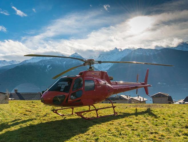 vinci volo in elicottero con Dr. Brux e RDS