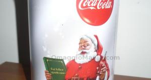 Barattolo in latta omaggio da Coca Cola
