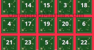Calendario dell'Avvento Bijou Brigitte 2014