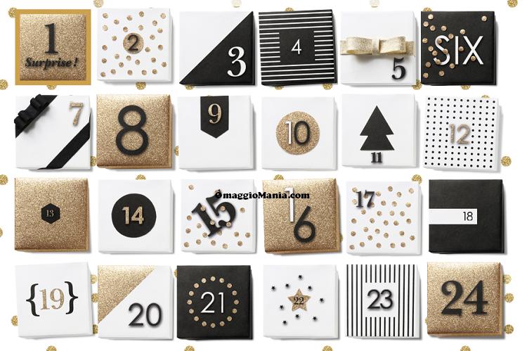 Calendario dell'Avvento Promod 2014