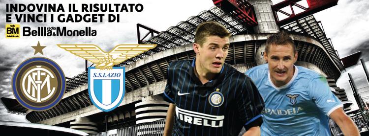 Inter-Lazio vinci gadget Radio Bellla&Monella