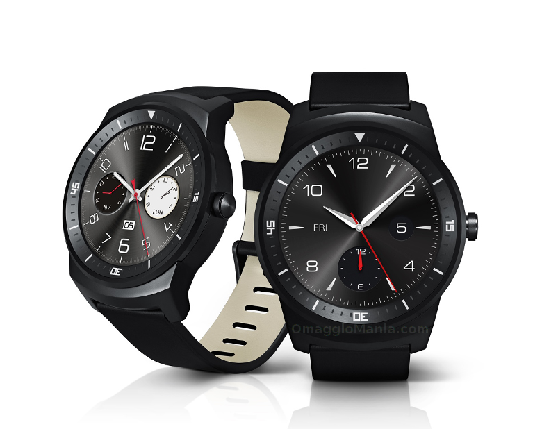 vinci smartwatch LG G Watch R con Wind