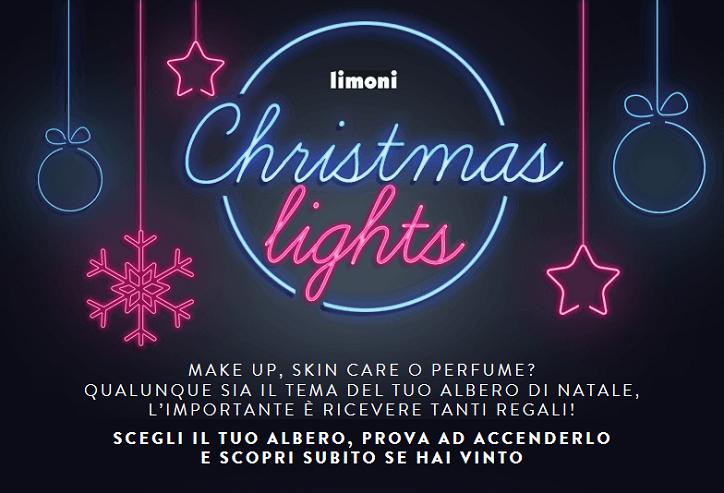 concorso a premi Limoni Christmas Lights