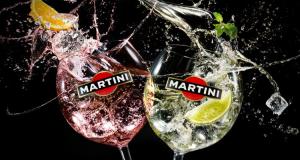 Martini Royale bianco e rosato