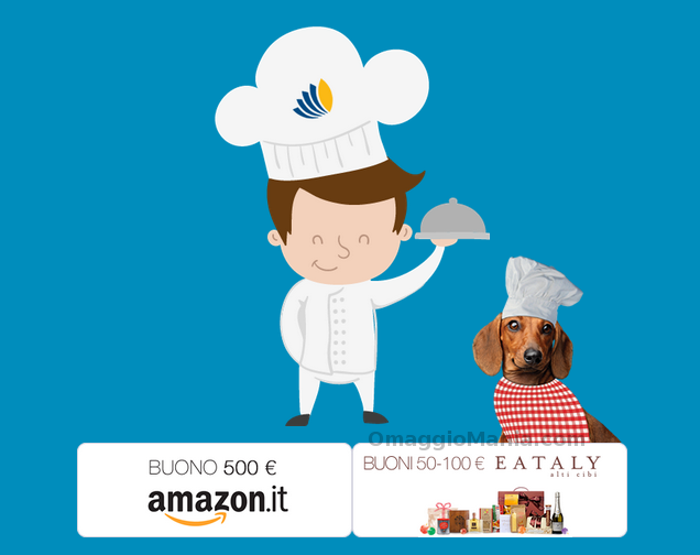Vinci coupon Eataly o Amazon con Cotto e Premiato