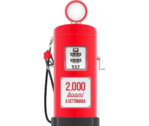 buono benzina omaggio con PagineGialle