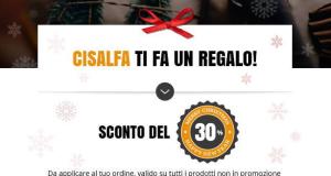 buono sconto Cisalfa Sport 30%