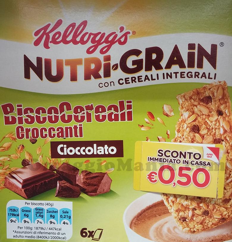 buono sconto Nutri-Grain Kellogg's