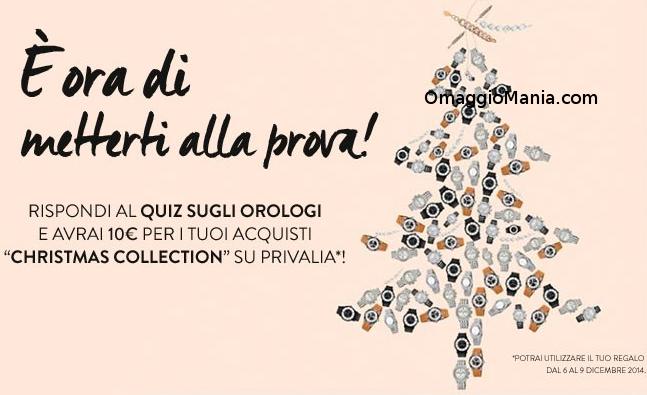 buono sconto Privalia Christmas Collection