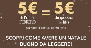 buono sconto libri Carrefour con Ferrero