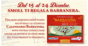 calendario 2015 Barbanera omaggio da Smoll