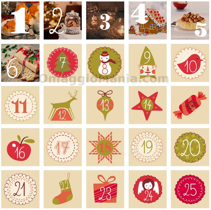 Calendario Avvento Ferrero.Calendario Dell Avvento Buitoni 2014 Omaggiomania