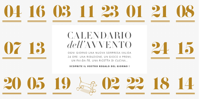 calendario dell'Avvento Smallable 2014