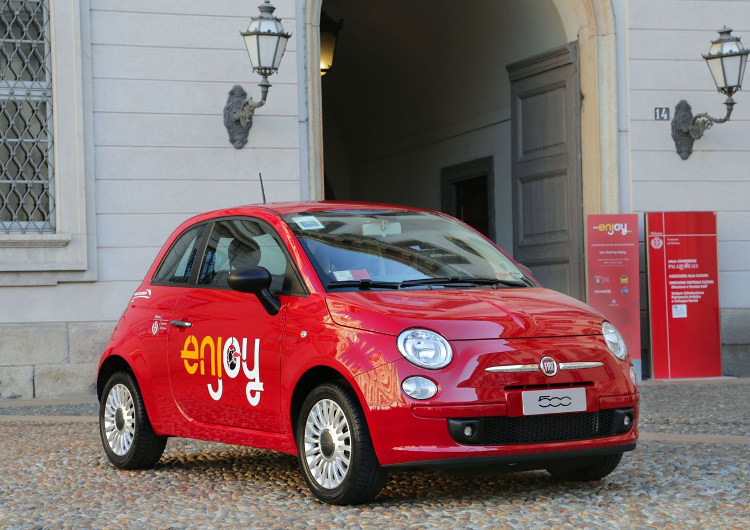 car sharing Enjoy ENI