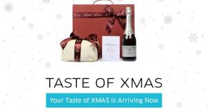 cesto natalizio omaggio da Uber e Eataly