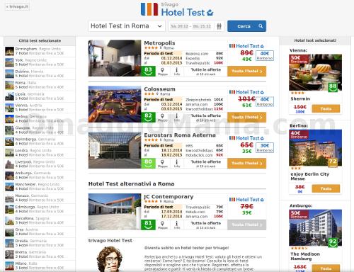 hotel test Trivago