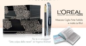 libro Virginia Bramati omaggio con L'Oréal