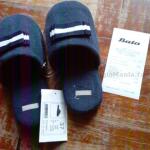 pantofole gratis da Bata Rosa