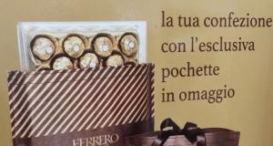 pochette omaggio Ferrero