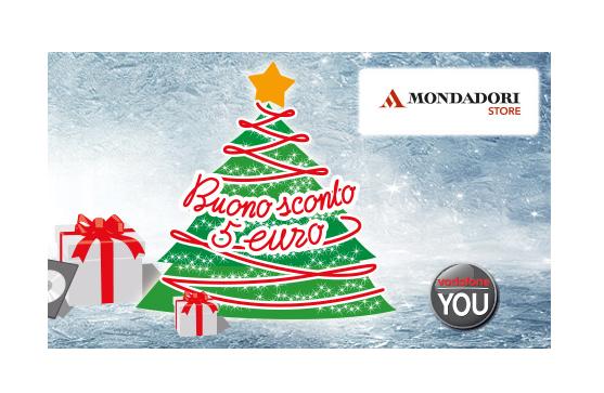 premio Vodafone YOU dicembre 2014: buono sconto Mondadori