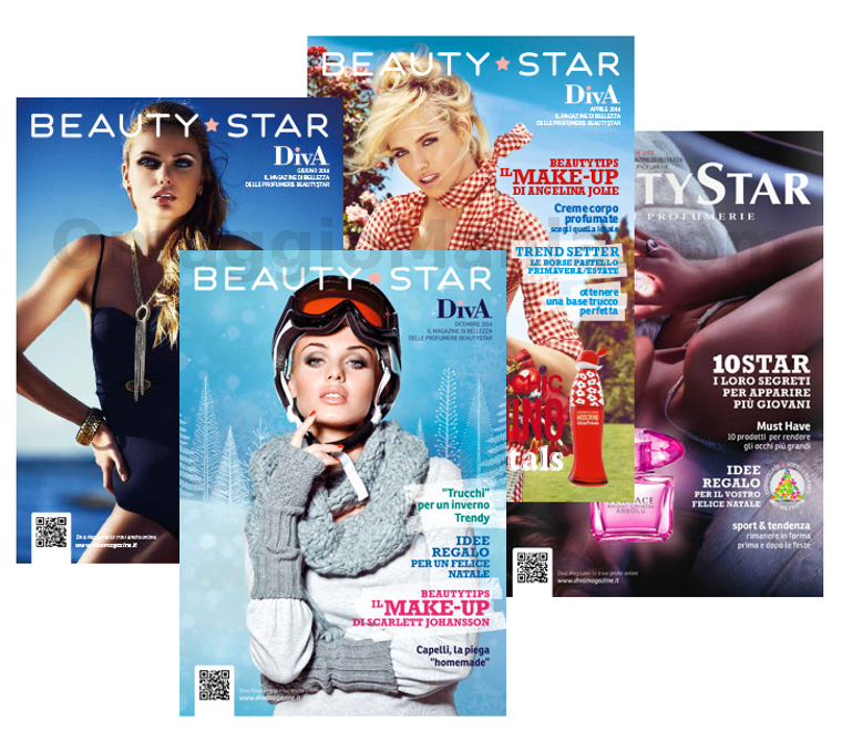 rivista Diva Magazine Beauty Star