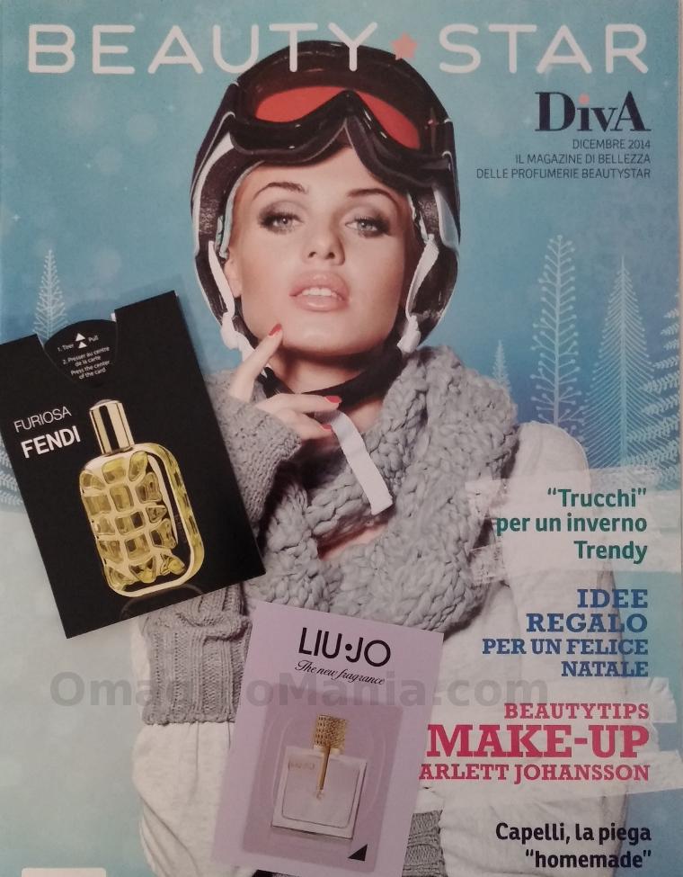 rivista Diva Magazine con campioni omaggio