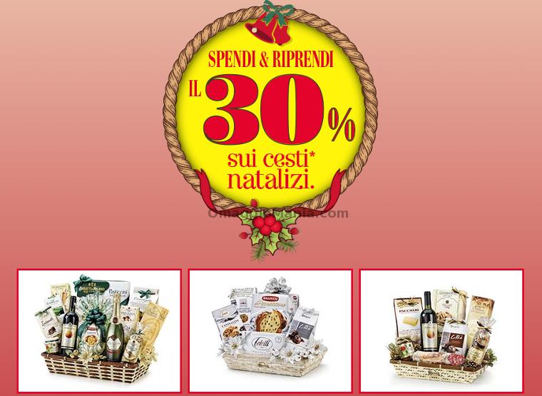 spendi&riprendi Carrefour sui cesti natalizi