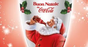 tazza natalizia Coca Cola omaggio