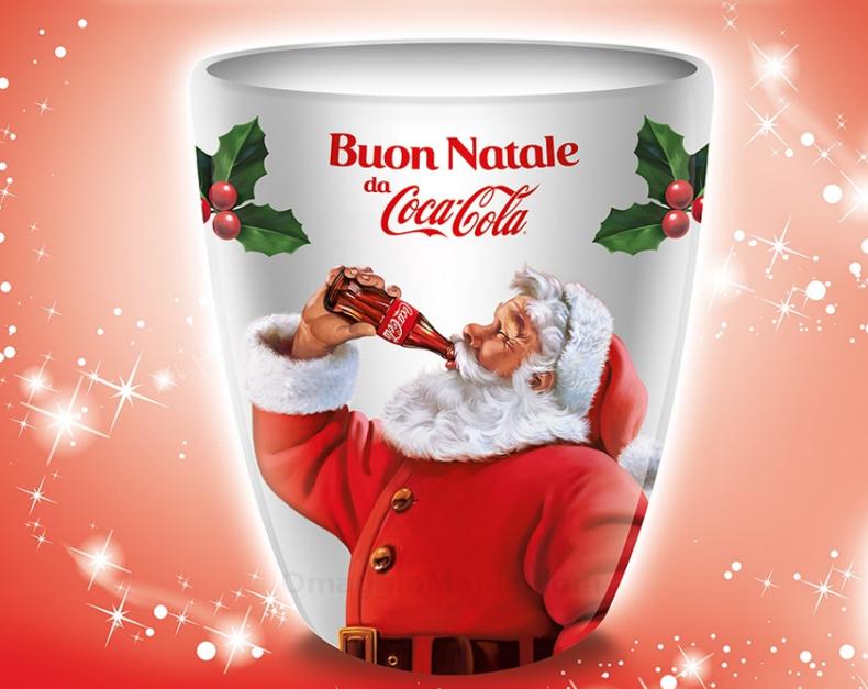 tazza natalizia Coca Cola omaggio con UCI