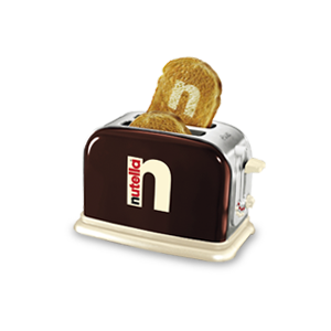 tostafette tostapane Nutella